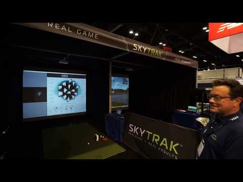 SkyTrak Software Updates At The 2019 PGA Merchandise Show