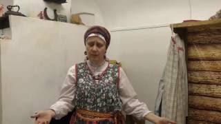 видео Экспозиция традиционного пятистенка