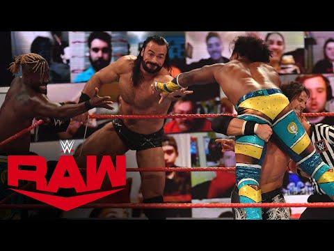 Drew McIntyre & The New Day vs. Randy Orton, The Miz & John Morrison: Raw, Nov. 9, 2020