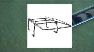 Best Choice Products Universal Contractor Pickup Truck Ladder Lumber Rack Full Size Heavy Duty