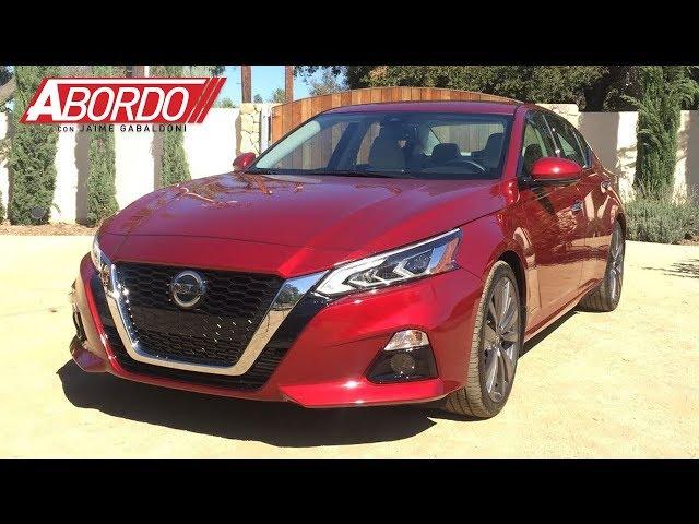 Primer Vistazo: 2019 Nissan Altima | A Bordo