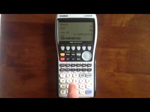 Casio Graphical Calculators Basics Fx 9860GII CG 20 CG50