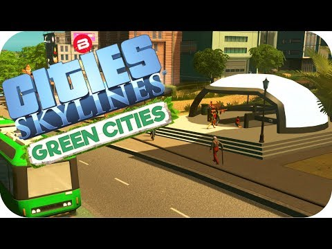 Cities: Skylines Green Cities ▶INNER CITY METRO'S◀ Cities Skylines Green City DLC Part 19