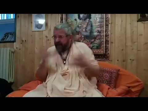 Morning program in Bulgaria (Srila BA Paramadvaiti Maharaj)