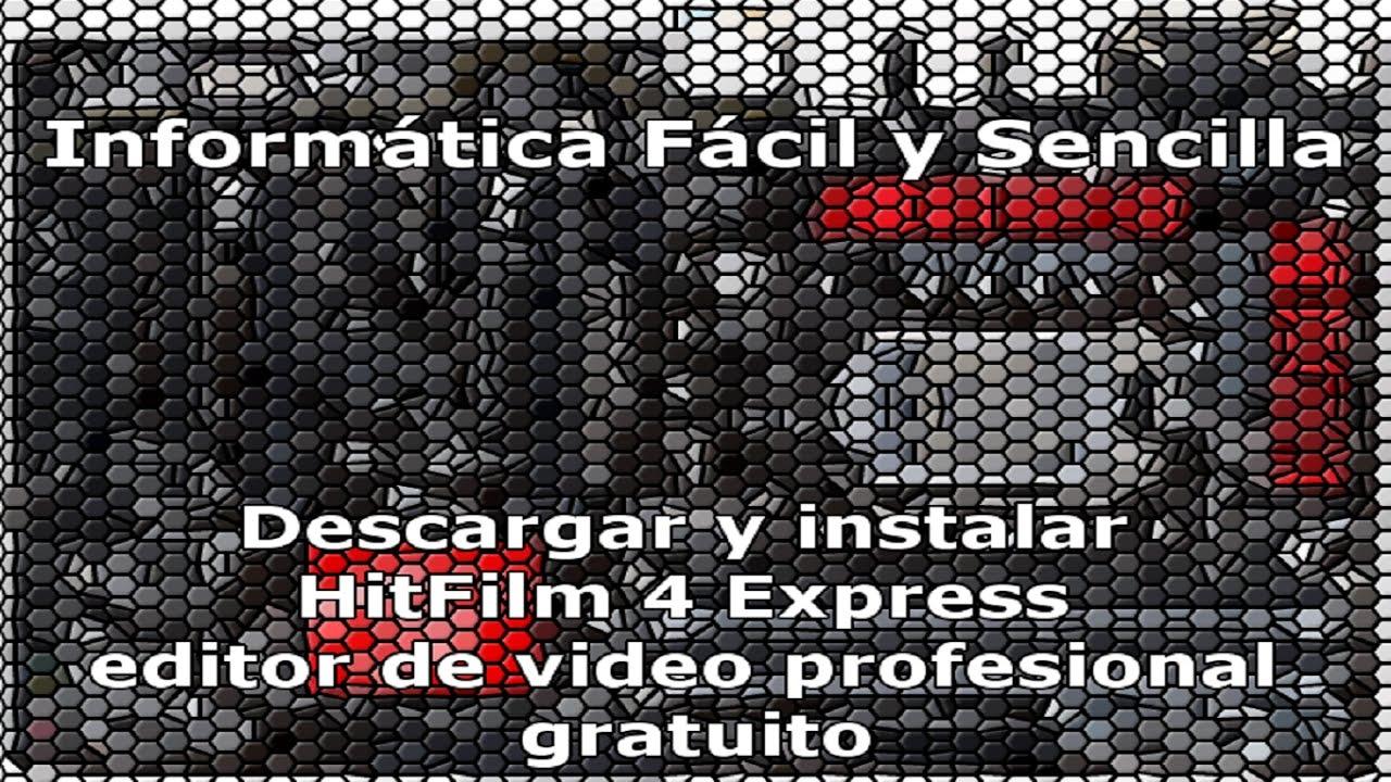 descargar hitfilm 4 express español