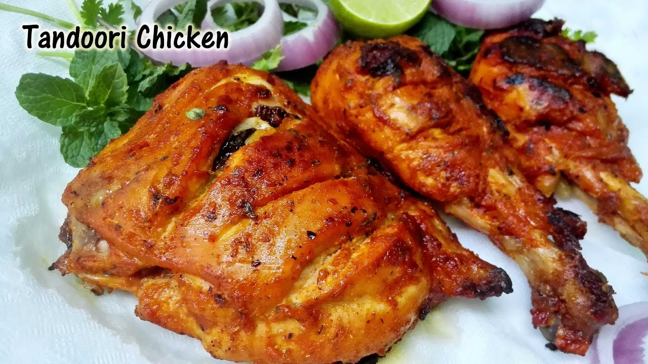 Tandoori Chicken Without Oven Microwave Sunday Special Recipe