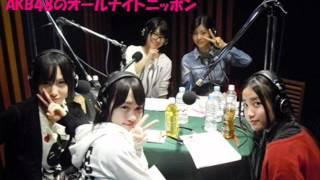 AKB48 ANN 20120324 3/3 U-18ナイト 進行:竹内美宥 阿部マリア 加藤玲...