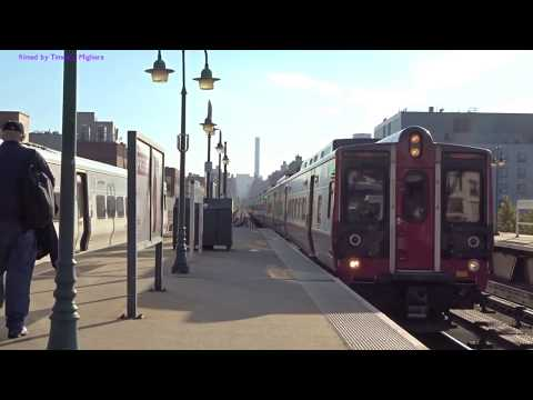 MetroNorth Trains in Harlem, Manhattan 2017 (NY Trains)