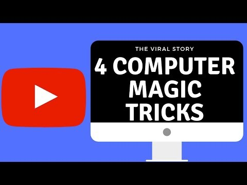 4 AMAZING COMPUTER TRICKS || MAGIC TRICK FOR COMPUTER & LAPTOP || THE VIRAL STORY