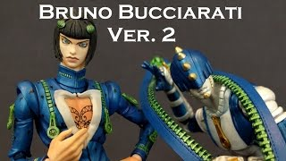 MediCos JoJo/'s Bizarre Adventure Bruno Bucciarati Super Action Statue Figure