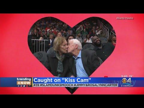 Jimmy Elliott - VIRAL VIDEO: Jimmy Carter and Rosalynn steal show on Atlanta Hawks Kiss Cam