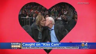 Trending: Former President Caught On Kiss Cam