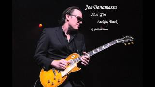 Joe Bonamassa - Sloe Gin (Backing Track by Gabriel Sucea)