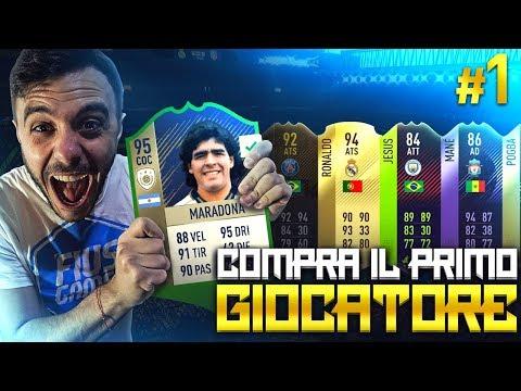 COMPRA IL PRIMO GIOCATORE!!! MARADONA EDITION #1 FIFA 18 ITA