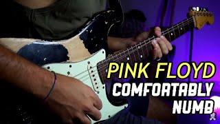 COMFORTABLY NUMB - PINK FLOYD (Guitar Solo) | Jack JD