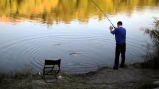 Рыбалка в парке Щербакова
