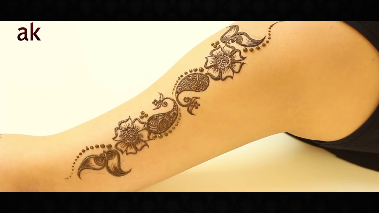 Mehndi Henna By Ash : Www.ashkumar.com ash kumar beauty shop: ak design stencils youtube