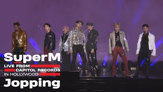 Gambar cover [4K] SuperM 슈퍼엠 'Jopping' @Live From Capitol Records in Hollywood