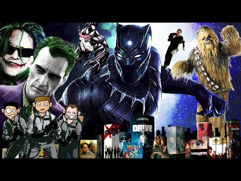 #5 IS BLACK PANTHER OVERRATED?  FILM & TV PODCAST NEWS & REVIEW (SPOILERS)