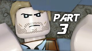 LEGO Jurassic World Video Game Walkthrough Gameplay Part 3 - Missing (PS4)