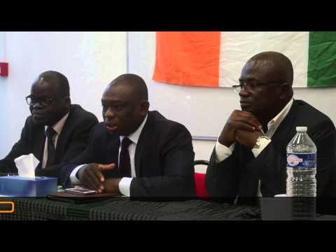 """KKB À PARIS : """"C'EST LAURENT GBAGBO QUI A GAGNÉ L'ÉLECTION PRÉSIDENTIELLE DE 2010 EN CÔTE D'IVOIRE"""""""
