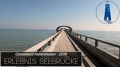 🔴 Urlaub: Eine der schönsten Seebrücken Kellenhusen - Strand, Meer, Ostsee