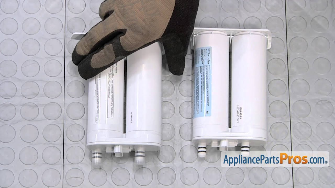 Refrigerator Water Filter Bypass (part #242227702) - How To Replace
