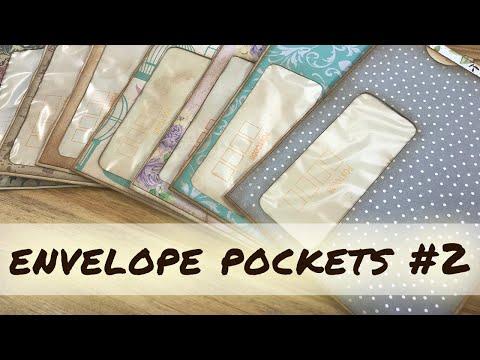 How to make window envelope pockets   Junk Journal ideas