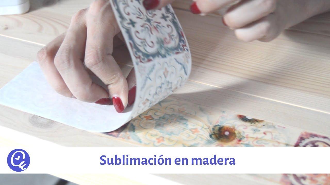 Técnica de la sublimación en madera | facilisimo.com