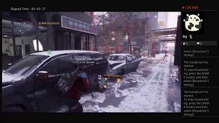 The Division, Part Twenty One, PS4 Live Broadcast, No Commentary, Walkthrough