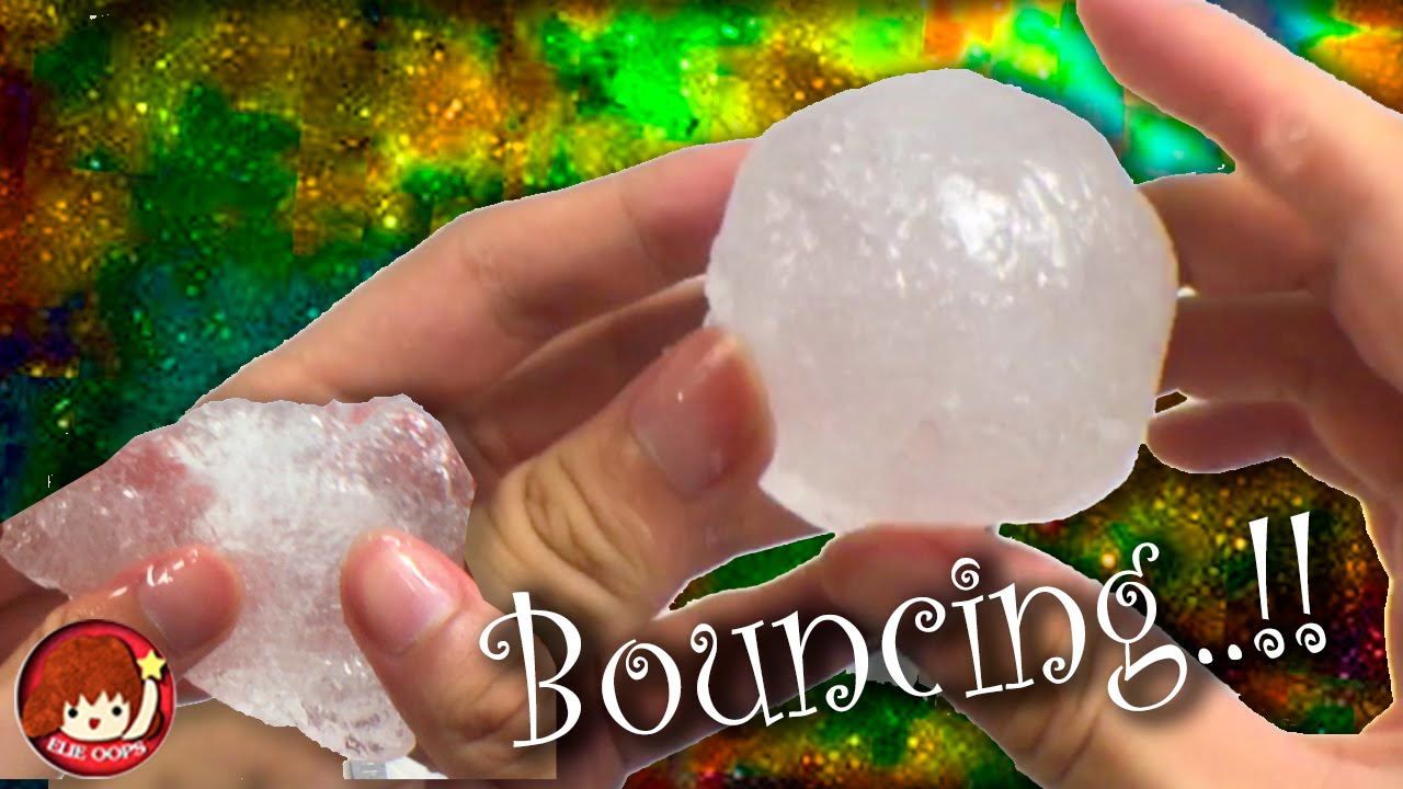 how to make a bouncing slime crystal clear elieoops. Black Bedroom Furniture Sets. Home Design Ideas