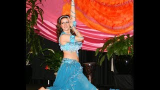 Long Island Belly Dancer Kirah performs a Drum Solo