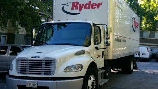 2015 Freightliner M2 106 Business Class  with Cummins 6.7L Review Ryder
