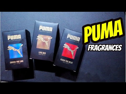 PUMA FRAGRANCES || Live Big , Push The Heat , Cross The Line || BUENAS Y BARATAS !!