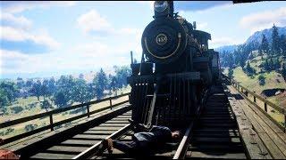 【RDR2】列車の運転できるとか神ゲーすぎるだろ!!【レッドデッドリデンプション2】