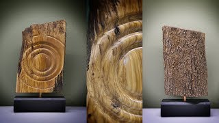 Woodturning a design element - sound reflaction !