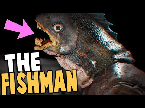 FIRST BIGFOOT & GOATMAN, HUNTING THE FISHMAN! - Dying: Reborn Gameplay