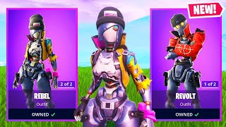 The New ROBOT SKINS in Fortnite..