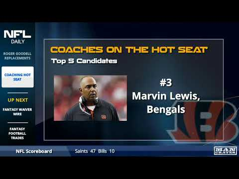5 NFL Head Coaches On The Hot Seat
