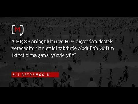 HDP dışarıdan destek vereceğini ilan ettiği takdirde Abdullah Gül'ün ikinci olma şansı yüzde yüz.