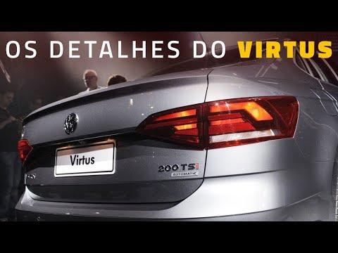 VW Virtus 200 TSi: vimos de perto e detalhamos o sedã do Polo