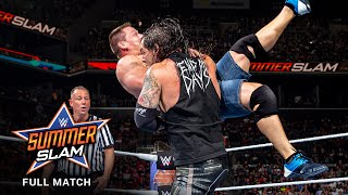 FULL MATCH: John Cena vs. Baron Corbin: SummerSlam 2017