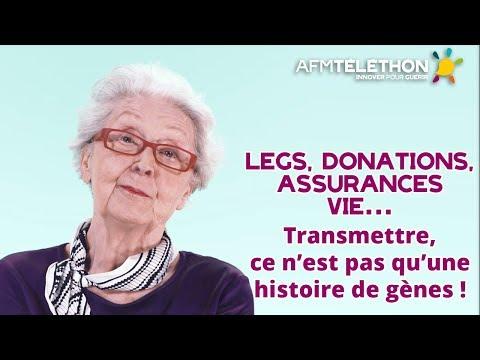 Legs, donation et assurances vie : une autre façon de donner | AFM-TÉLÉTHON 2018