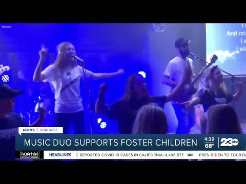 ABC Bakersfield: 'Music duo spreads positivity and supports foster children'