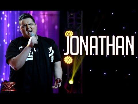 Jonathan canta con pasión| Noche de eliminación | Factor X Bolivia 2018