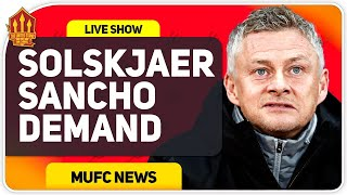 Solskjaer's Sancho Transfer Demand! Man Utd Transfer News