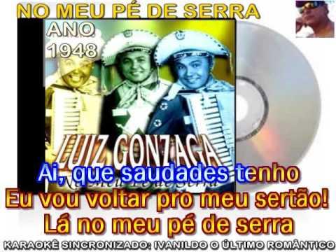 No Meu Pé de Serra - Luiz Gonzaga - karaokê