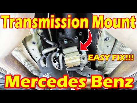 How To Change Replace Your Mercedes Benz Transmission Mount – Mercedes Benz S Class S500 W220