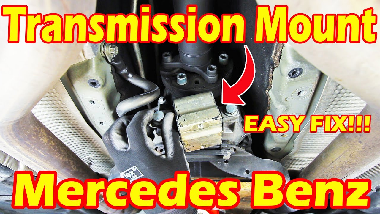 how to change your transmission mount