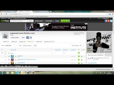 Tutorial crear un reproductor MP3 hulkshare Facil [Pachinn.com]